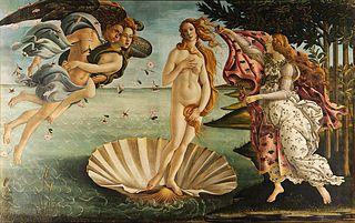 Geburt der Venus von Boticelli