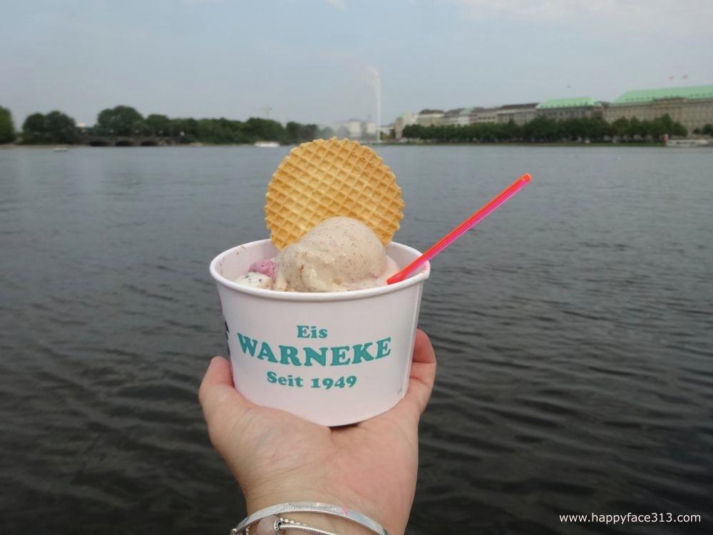 the grand finale / das große finale: Warneke Eis