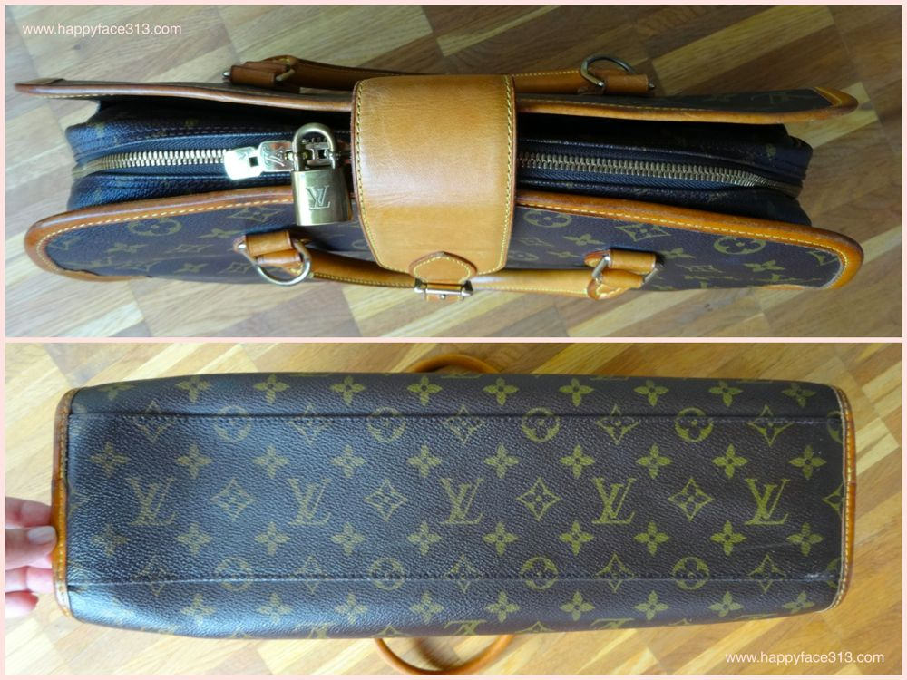 Louis Vuitton Monogram Rivoli - top & bottom / von oben & unten