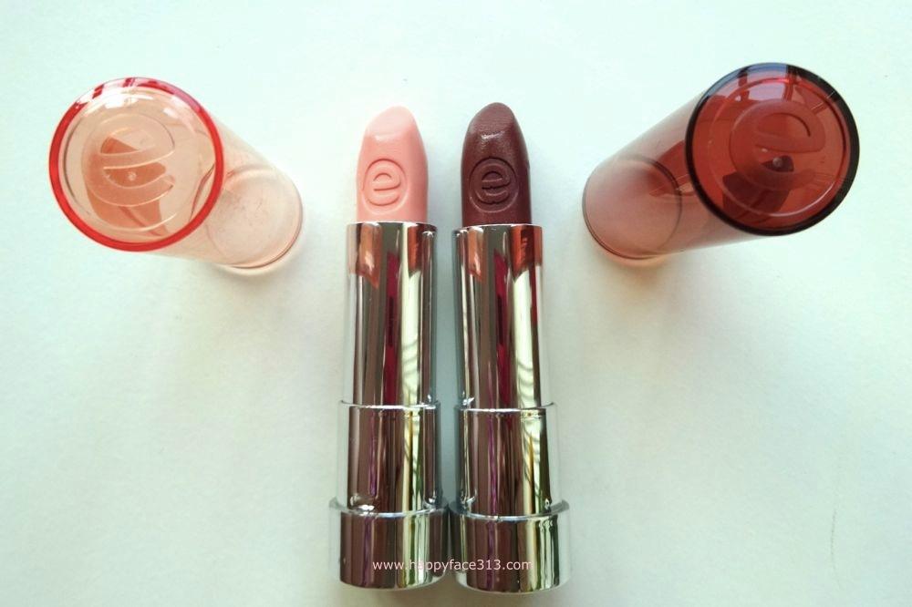 essence try it. love it! sheer & shine lipsticks