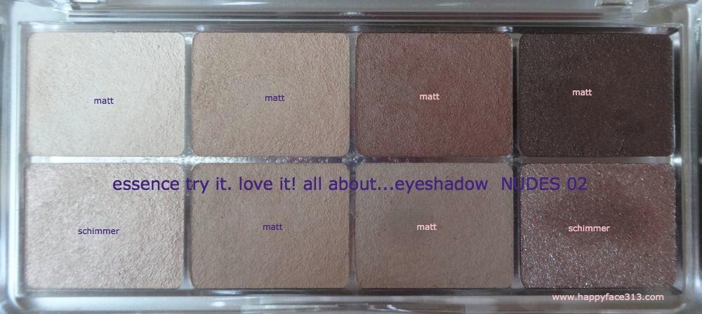 HappyFace313 essence try it love it eyeshdow 02 nudes 3