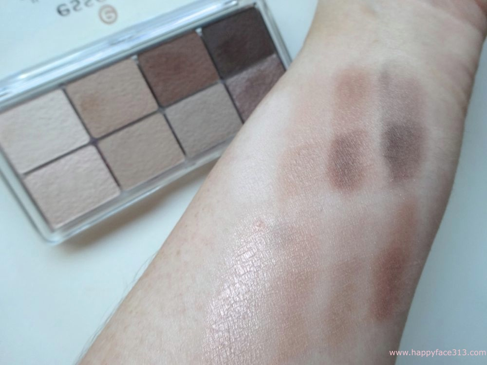 essence all about NUDES 02 - Swatches