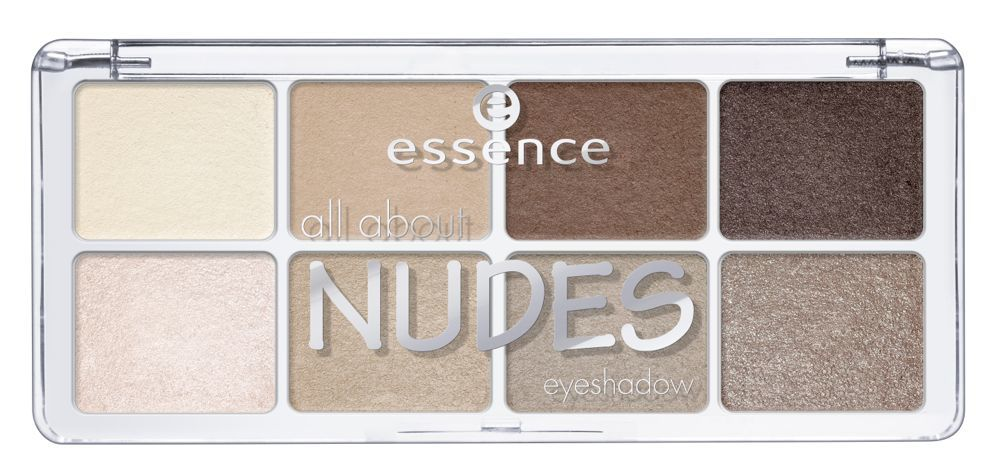 essence all about NUDES eyeshadow Pallette © Cosnova