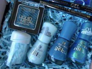 HappyFace313 Giveaway Gewinnspiel essence blue box blau 2