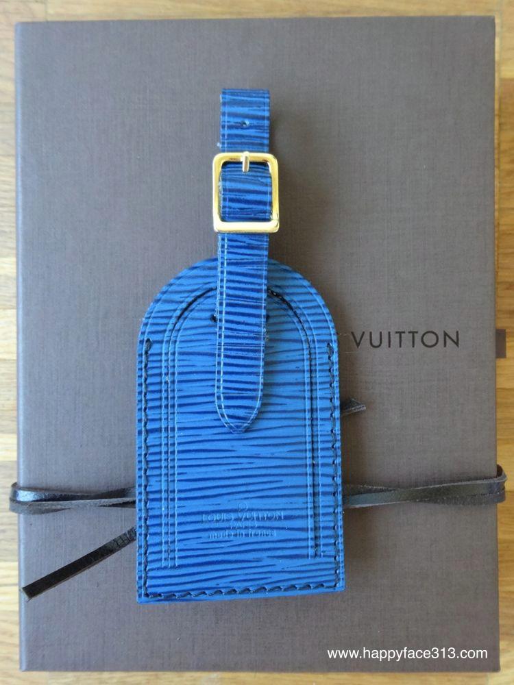 Louis Vuitton Kofferanhänger aus Epi Leder
