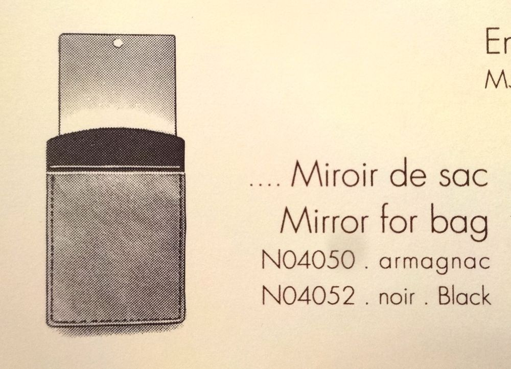© Louis Vuitton - Miroir de Sac 1991