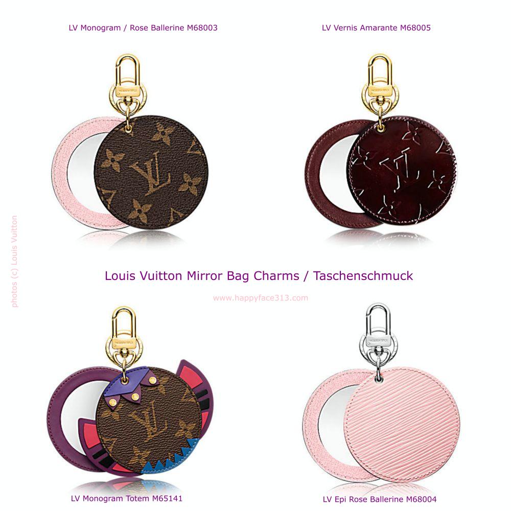 HappyFace313 Louis Vuitton Mirror Bag Charm Taschenschmuck_Collage 2