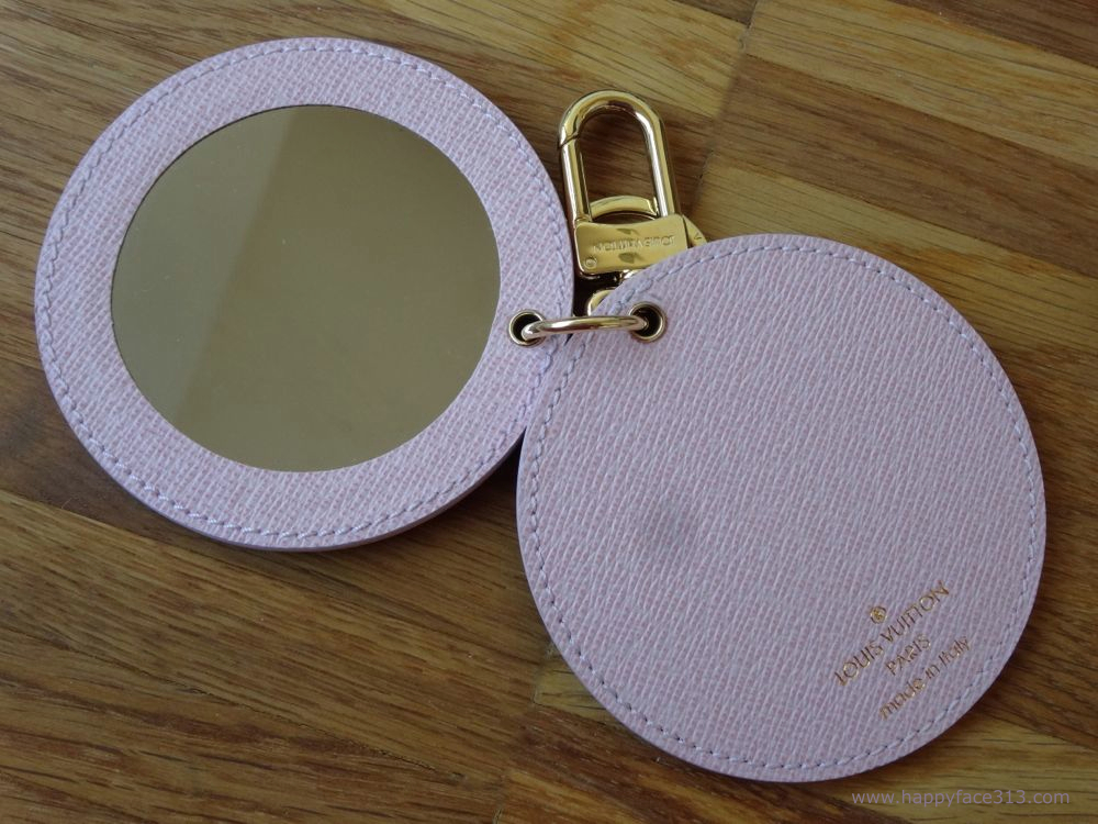 Louis Vuitton Mirror Bag Charm Rose Ballerine