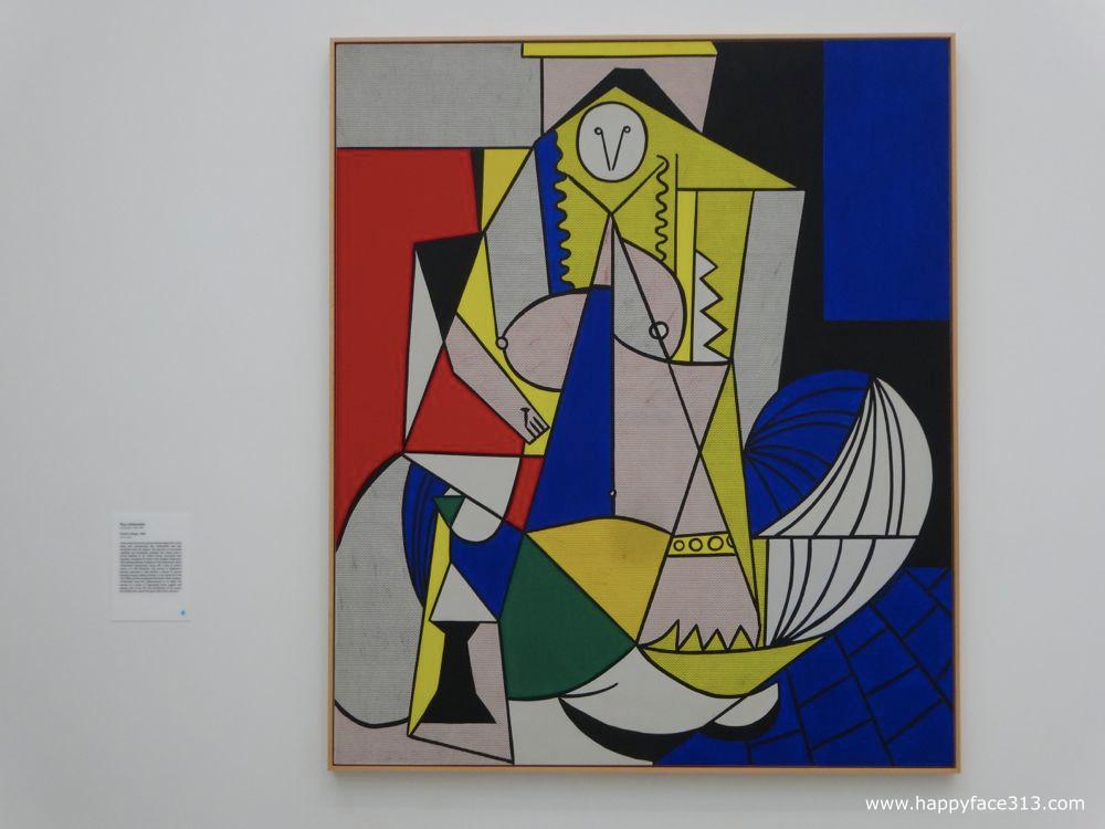 The Broad Roy Lichtenstein - Femme d'Alger