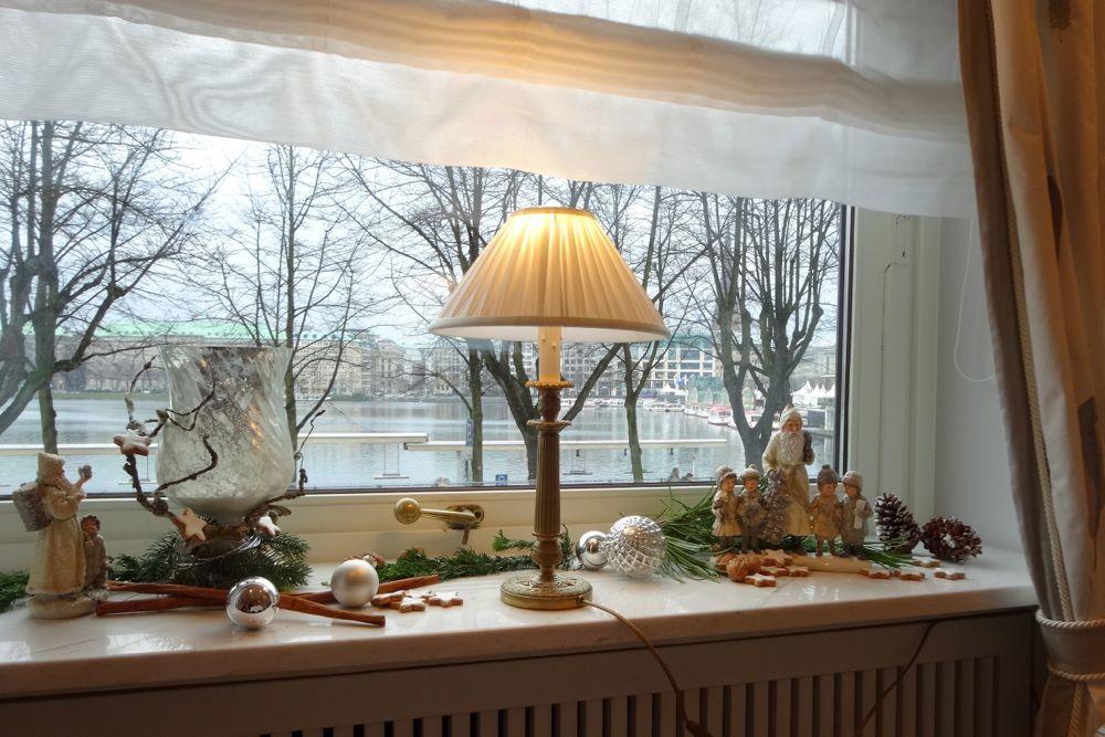 Café Condi - view from our table / Ausblick von unserem Tisch