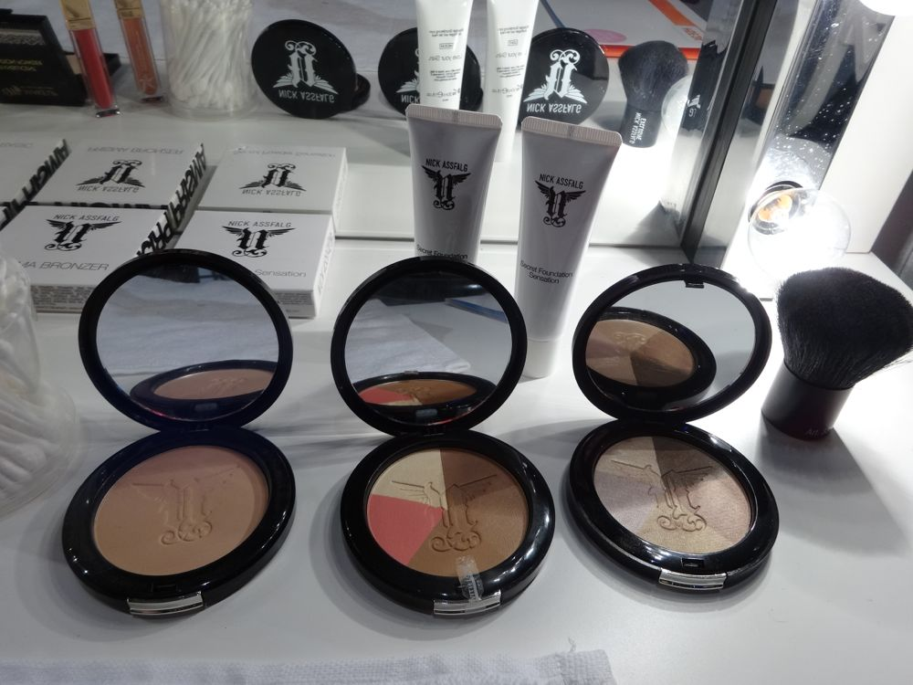 Nick Assfalg Powder, Bronzer & Eyeshadow