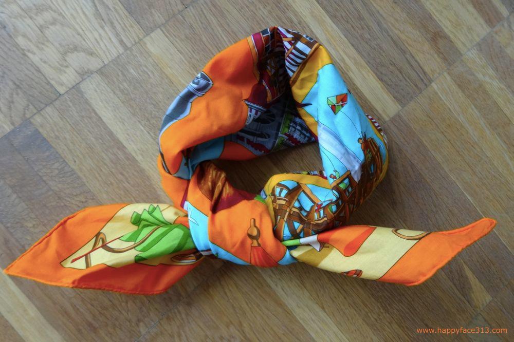 my Hermès travel scarf / mein Hermès Reisetuch