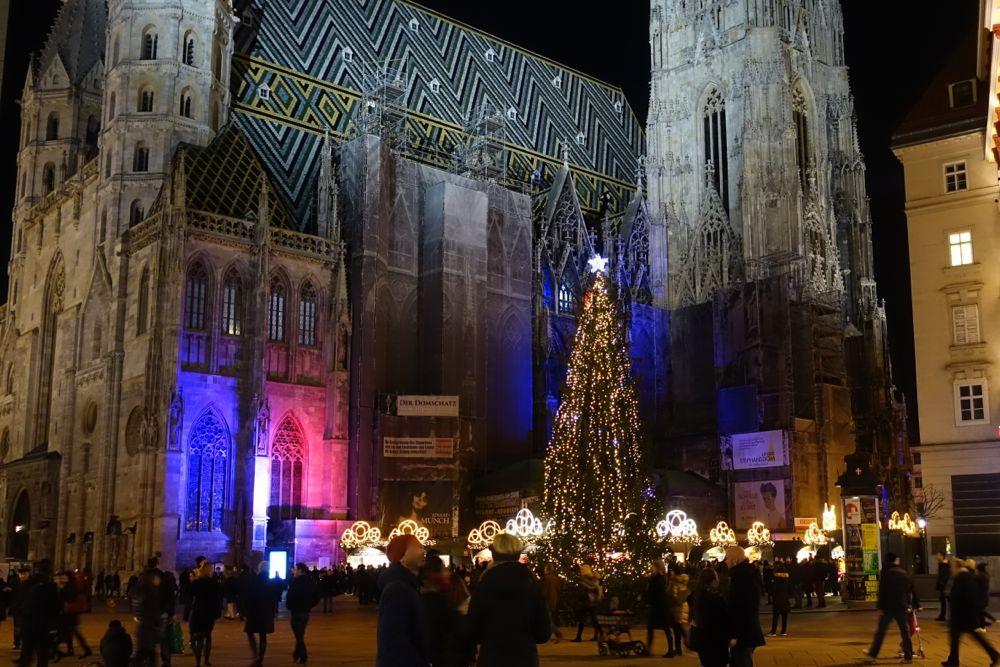 Holiday atmosphere in Vienna / Feiertagsstimmung in Wien
