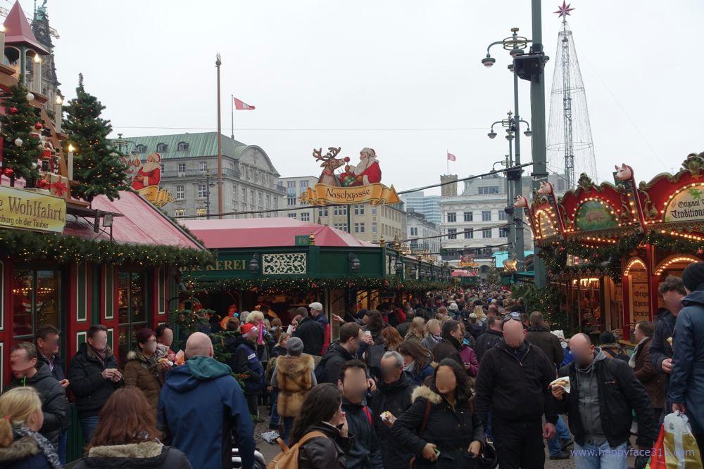 Weihnachtsmarkt auf dem Rathausmarkt