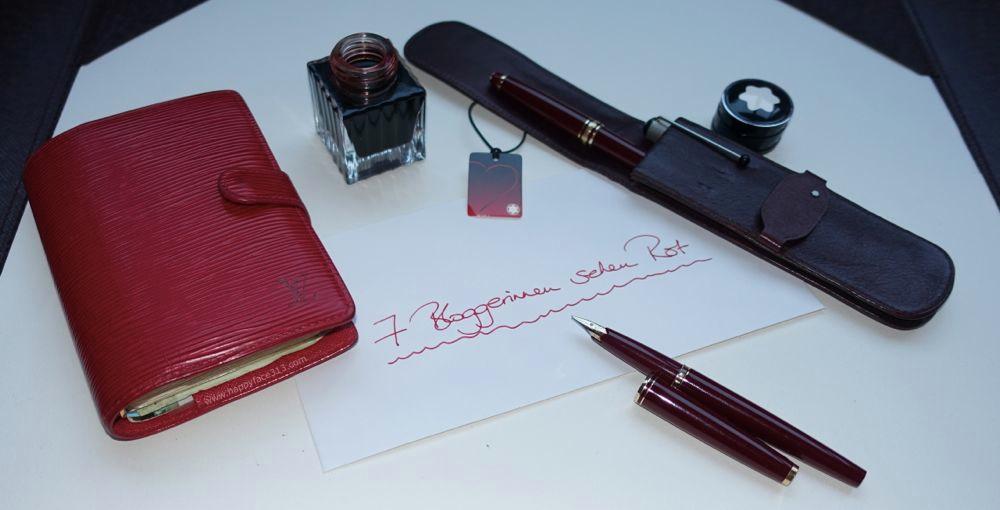 alte Lieblinge LV Agenda und Montblanc Füller / old favs LV agenda and Montbland fountain pen