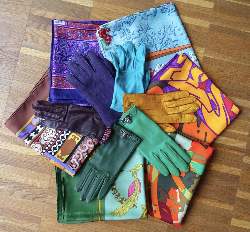 more gloves and more scarves / noch mehr Handschuhe und Tücher