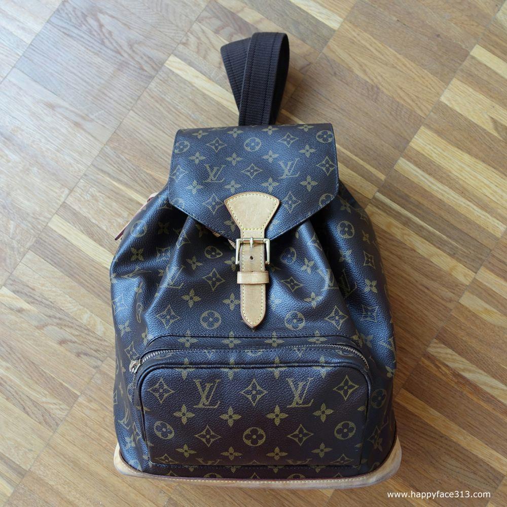 Louis Vuitton Montsouris GM Backpack / Rucksack