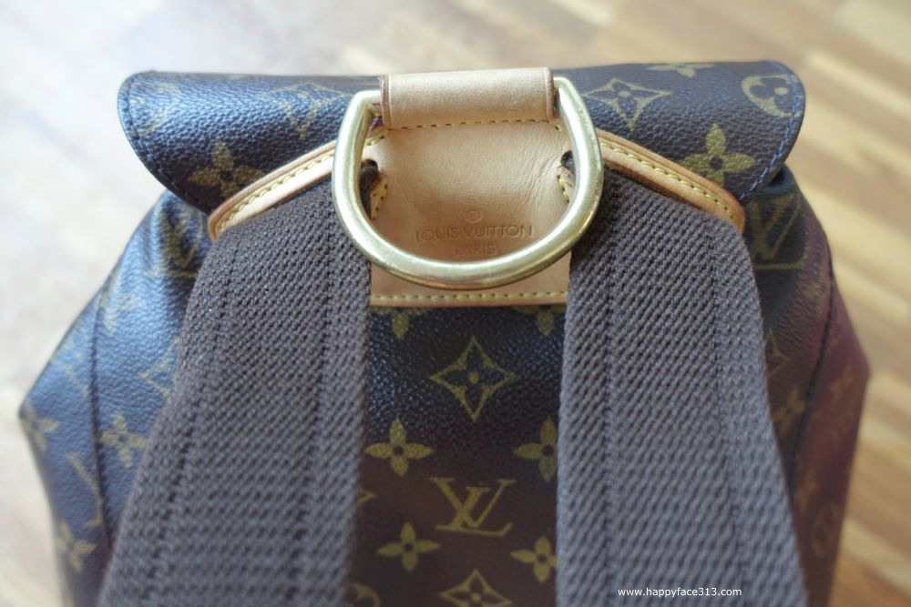 Louis Vuitton Montsouris GM with fabric shoulder straps