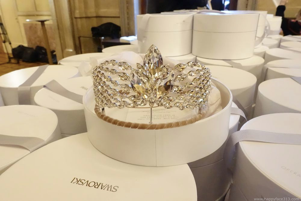 Rising Star Tiara by Marie Boltenstern for Swarovski