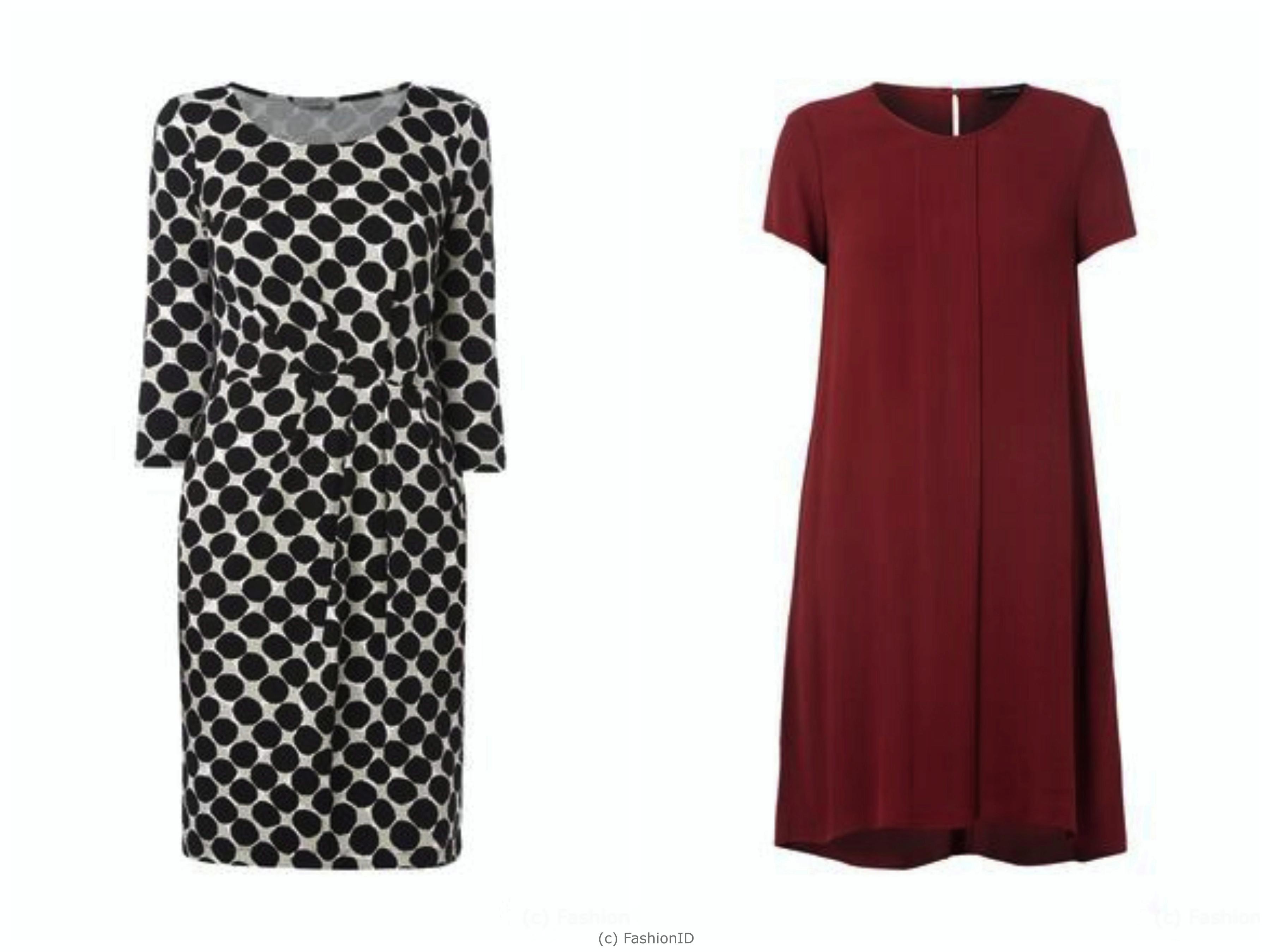 Kleider von Montego (li) und Marc O'Polo (re)