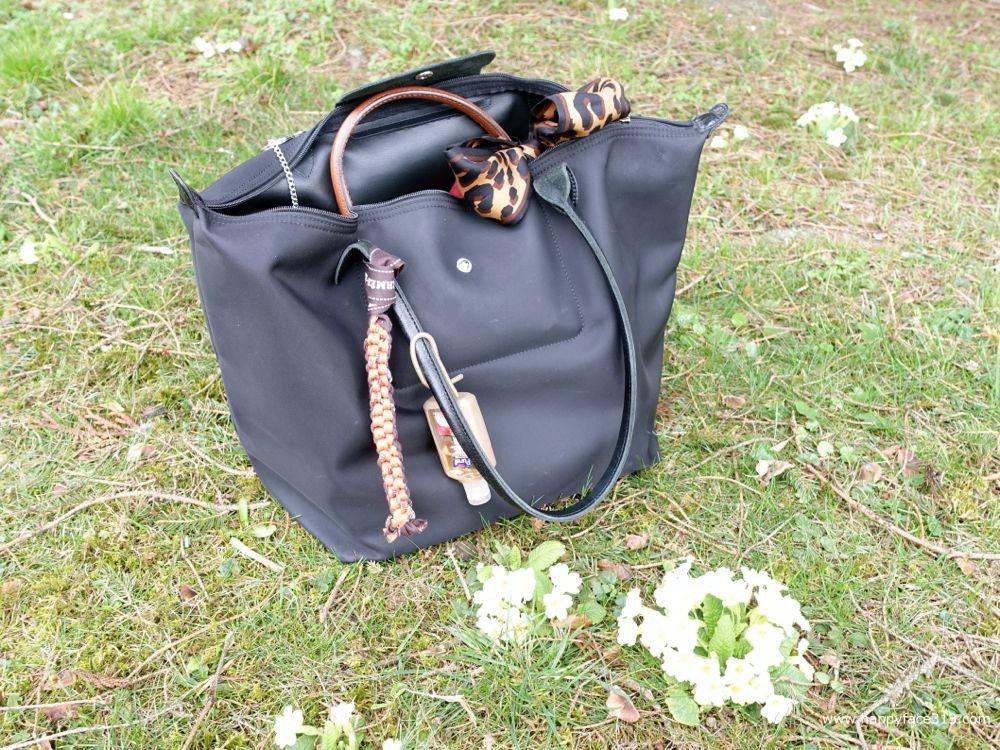 what's inside the Longchamp Le Pliage Shopping bag?