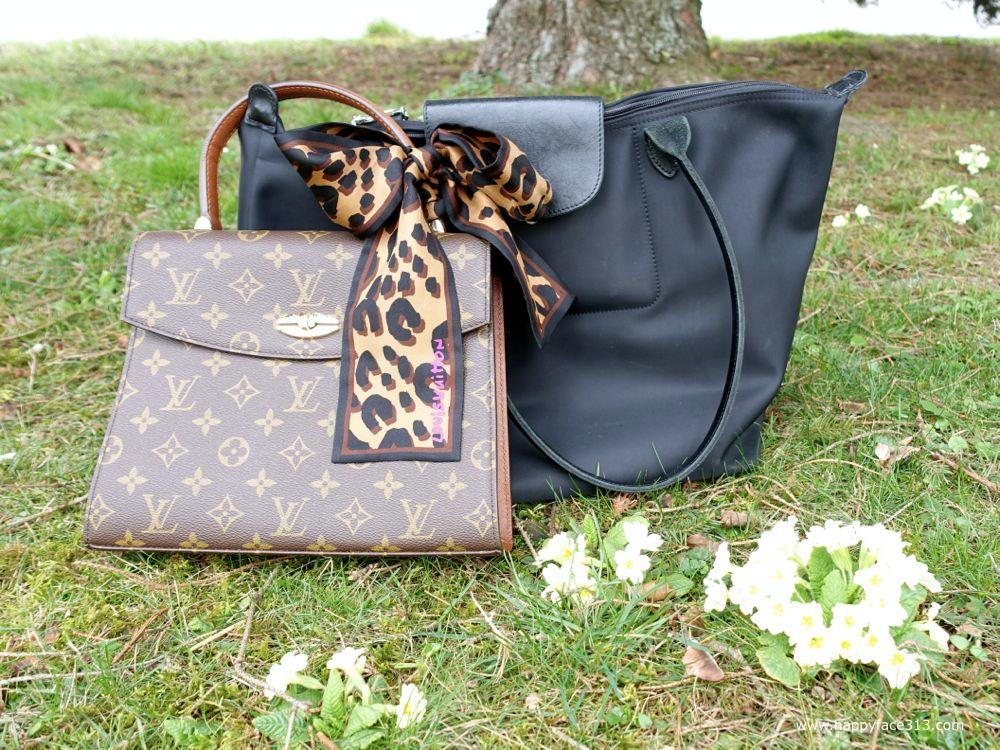 the perfect match: Longchamp & Louis Vuitton