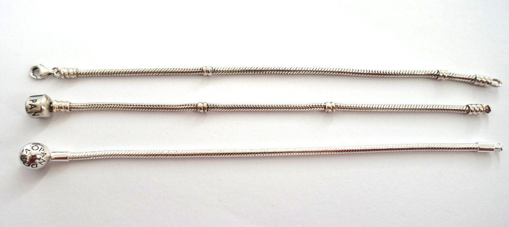Pandora - bracelets new and old / neue und alte Armbänder