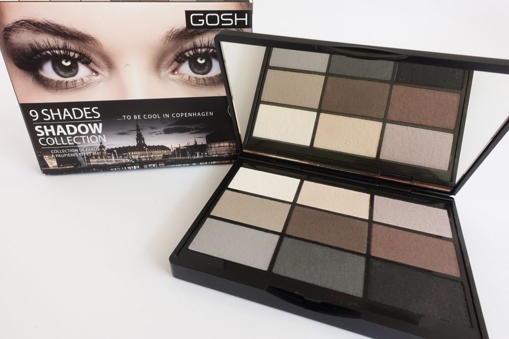 GOSH - 9 Shades Shadow Collection - To Be cool in Copenhagen