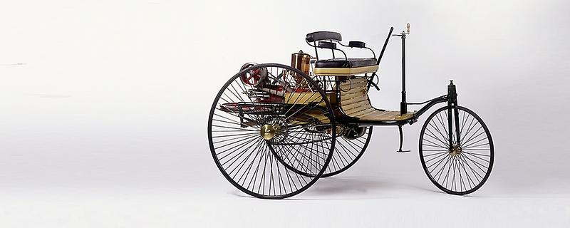 Benz Patent Motorwagen 1885-1886, © Daimler