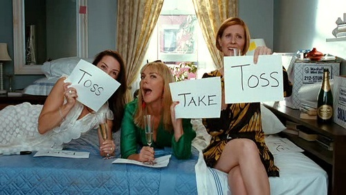 Take! Toss! © sex and the city