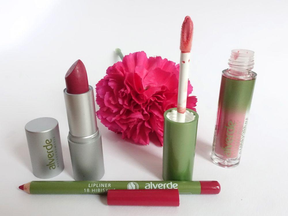 Alverde Lippen Make-up für das Frühjahr