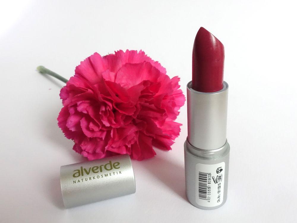Alverde Color & Care LIppenstift 64 Pink Magnolia