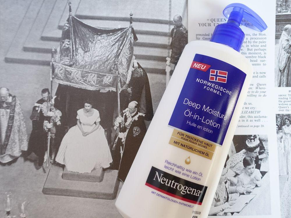 Glossybox Classy Queen - Neutrogena Deep Moisture Öl-in-Lotion