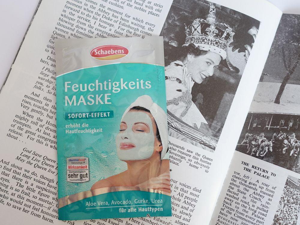Glossybox Classy Queen - Schaebens Feuchtigkeits Maske