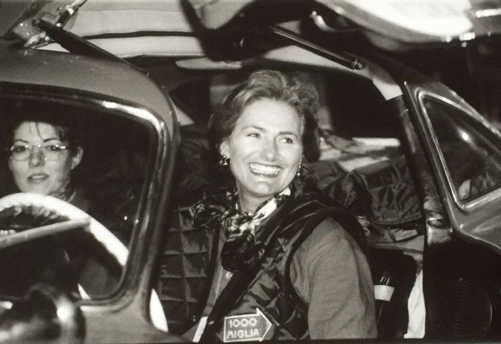 Mille Miglia Lady - my mom - world's best driver!