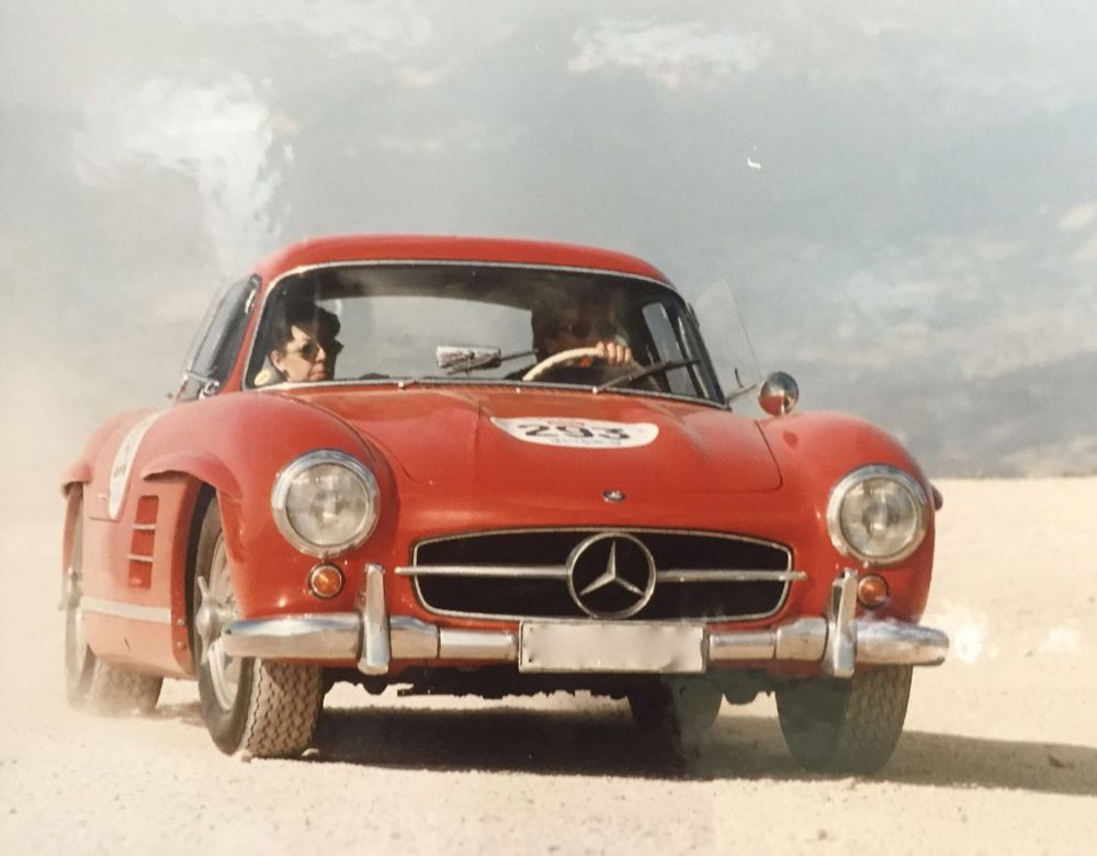 Mille Miglia 300 SL Gullwing Ladies Team - She's Mercedes 1997