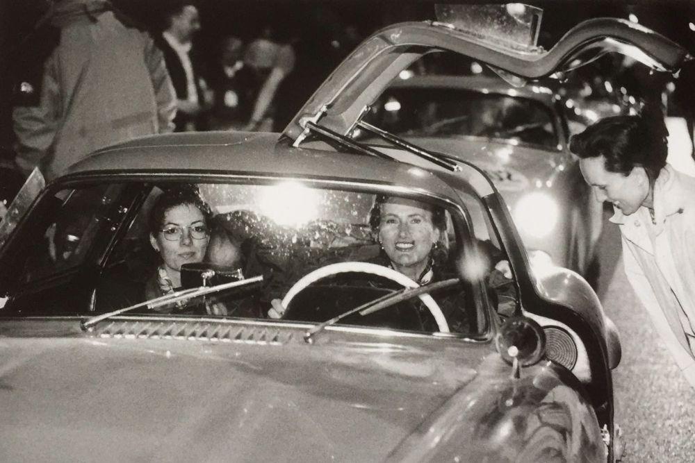 Mille Miglia She's Mercedes Ladies Team - somewhere along the way / irgendwo unterwegs