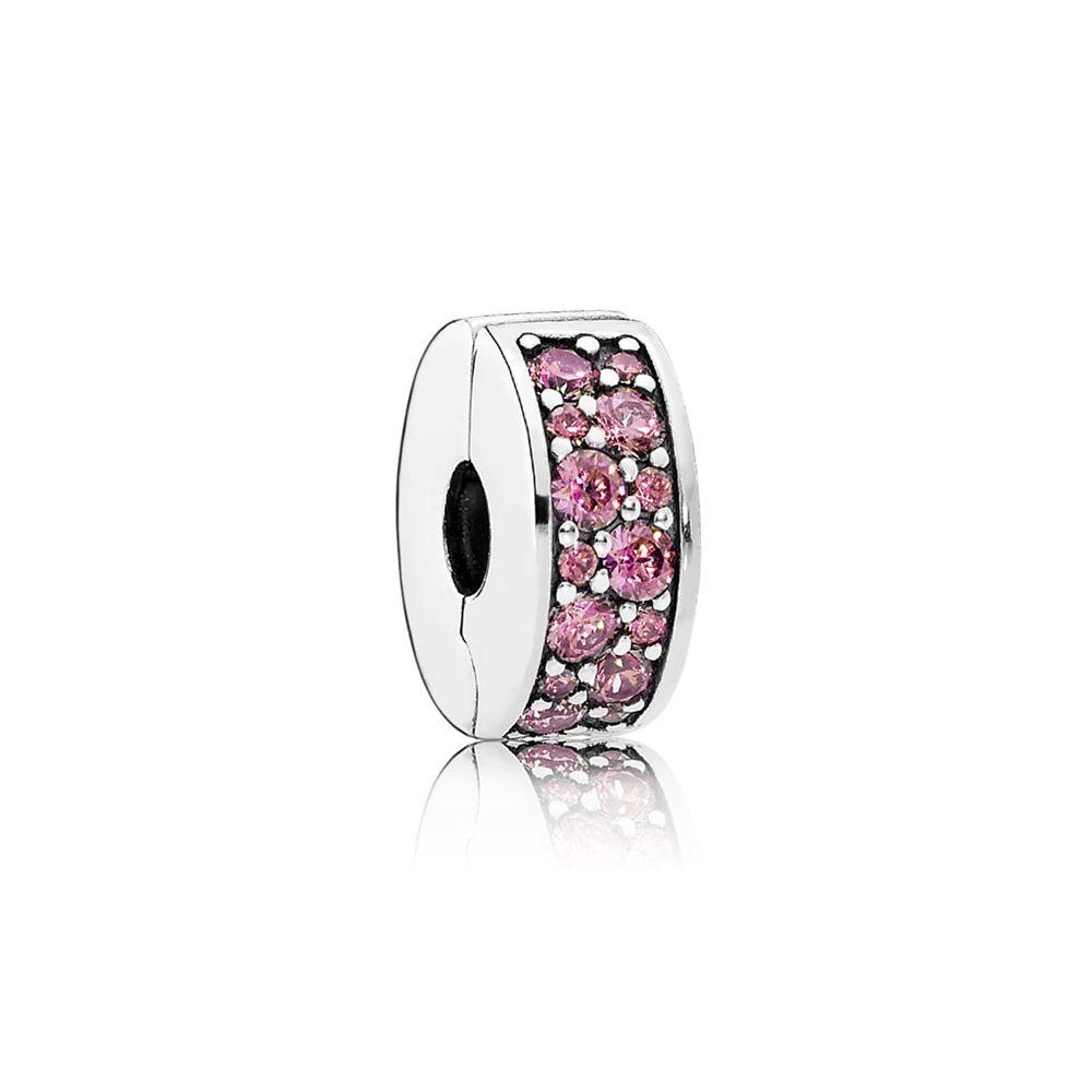 pink Shining Elegance clip / pinkfarbener Shining Elegance Clip - © Pandora