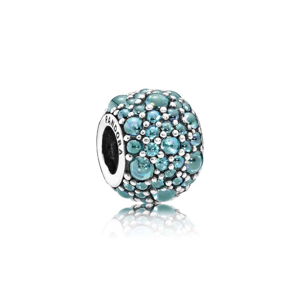 türkisfabene Shimmering Droplets Charm - © Pandora
