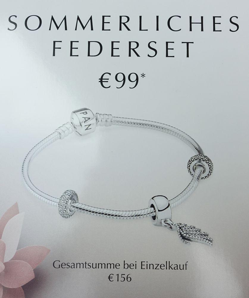 Special elegant feather charm 791750 offer / Sonderangebot Phoenixfeder 701750