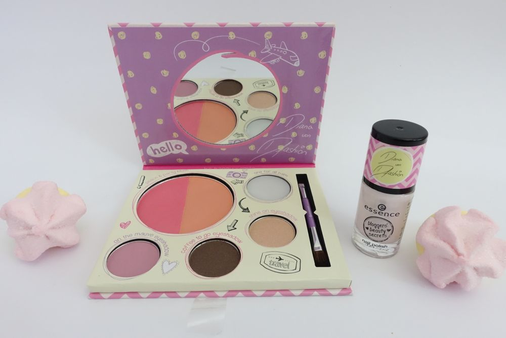 essence bloggers' beauty secrets - touch up to go palette & nail polish