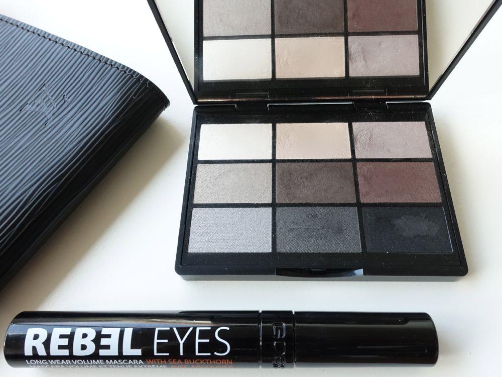 schwarze Mascara passende Lidschatten-Palette - GOSH Copenhagen
