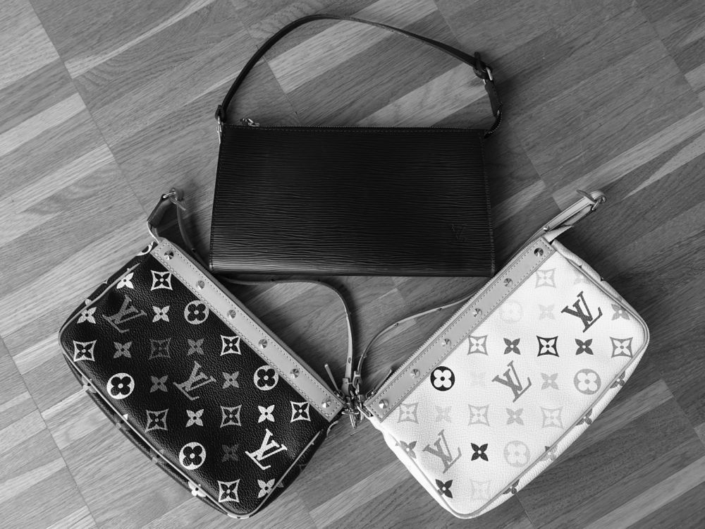 Louis Vuitton Pochette Accessoires Epi and Multicolore