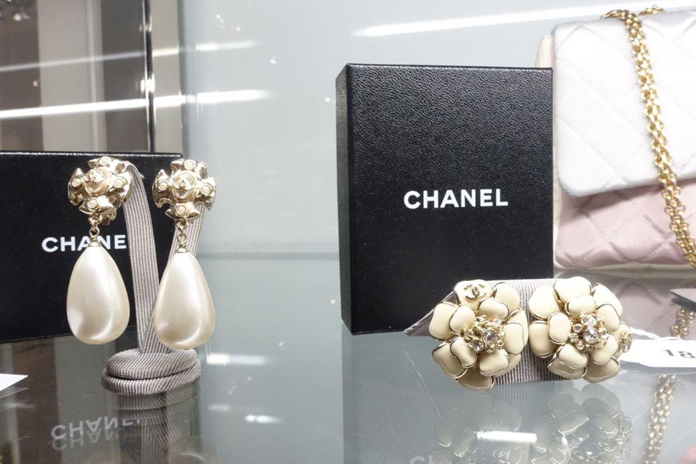CHANEL Auktion im Dorotheum - Ohrringe
