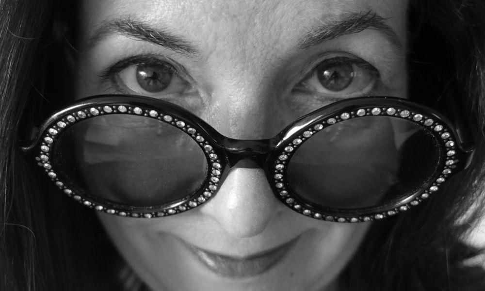 my mom's nine teen sixty something sun glasses