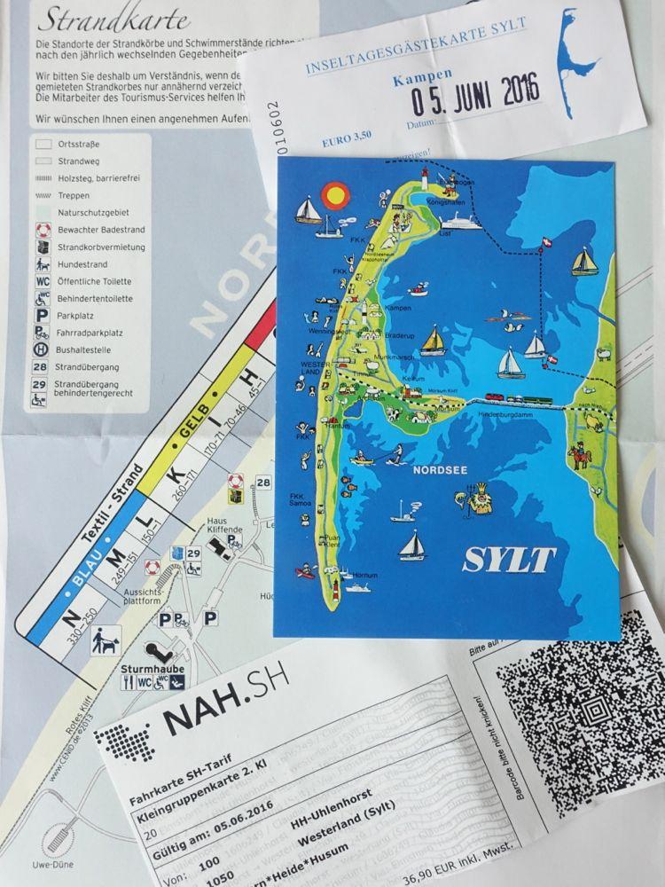 scrapbook memories - tickets and post card