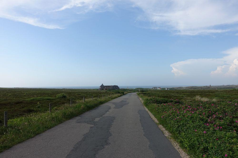 on my way to the Kampen beach / auf dem Weg zum Kampener Strand