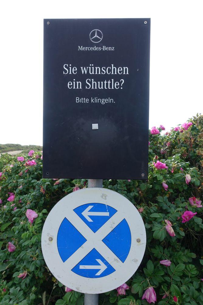 zur Sansibar fahren oder laufen? / Would you like to drive or walk to Sansibar?