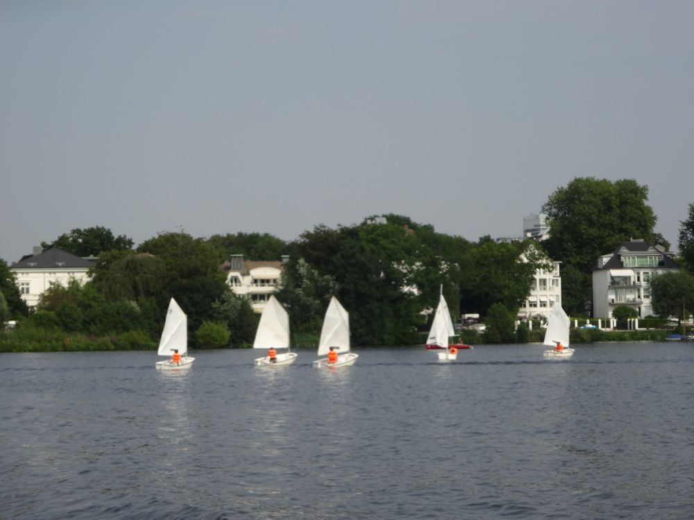 Segel- Unterricht / sailing lessons
