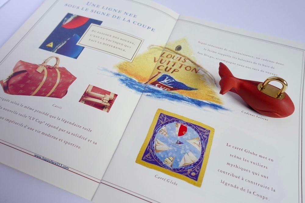 Louis Vuitton Cup 1995 booklet / Katalot